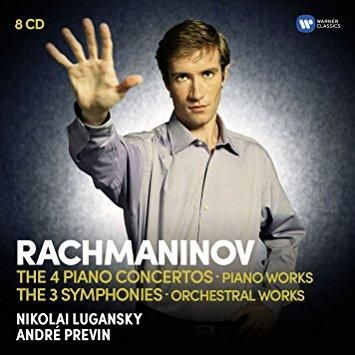 Nikolai Lugansky - Rachmaninov: The Piano Concertos, The Symphonies, Rhapsody on a theme by Paganini, Variations, Préludes, Moments musicaux
