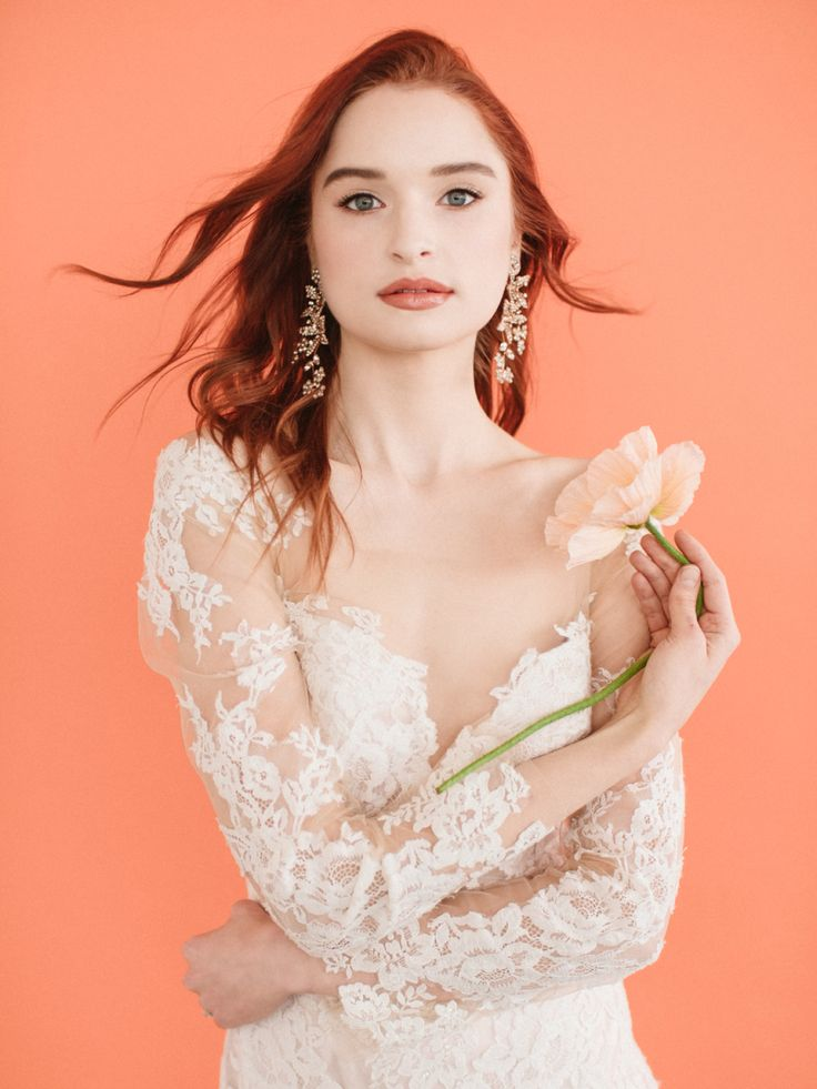 The Spring 2018 Collection from Allure Bridals is all about enhancing you! #weddingdress | Photography: Heather Waraksa Photography