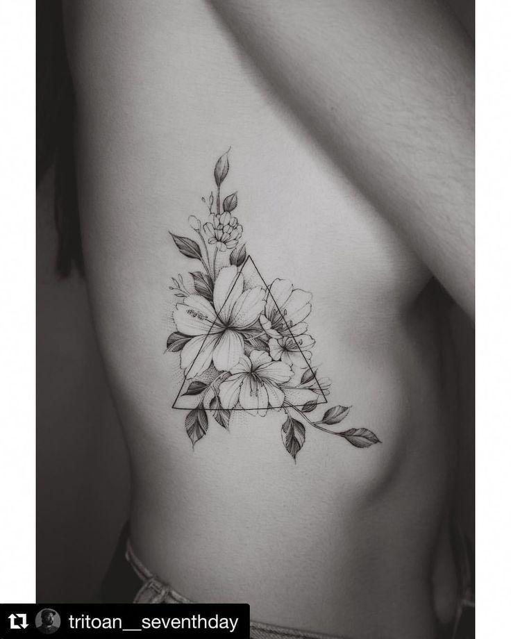 Folgen Sie @shoutout_tattoo für mehr! Artis #Geometrictattoos   – Naomi Garzia … – Julia