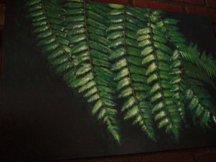 Another Fern painting that John did for me