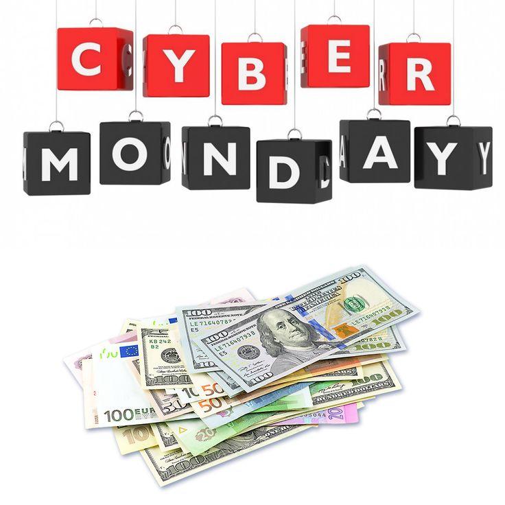 Planujecie zakupy w Cyber Monday? W naszym kantorze wymienicie zagraniczne waluty na rodzime złotówki aby sfinalizować swoje zakupy :) #kantor #kantorkraków #wymianawalut #kurseuro #kursdolara #kantorcentuś