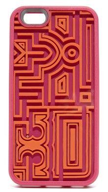 Tory Burch Кожаный чехол для iPhone 6/6S с аппликацией в виде оленя | SHOPBOP