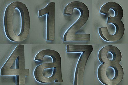 die besten 25 hausnummer beleuchtet ideen auf pinterest adressnummern hausnummern leuchten. Black Bedroom Furniture Sets. Home Design Ideas