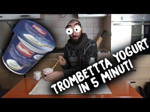 Strumenti MUSICALI FAI DA TE - Trombetta Yogurt - Yogurt Trumpet