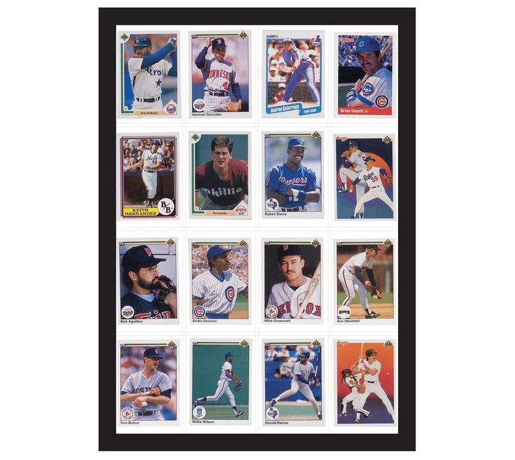Room Essentials� 16 Baseball Card Display Case