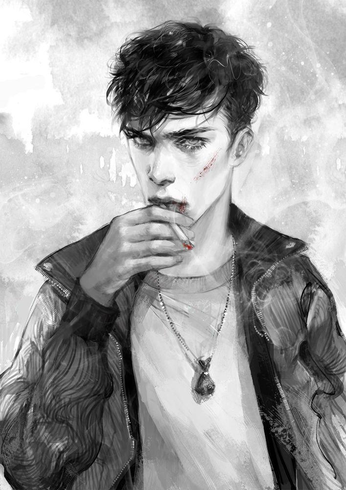 Smoker by Heleness on DeviantArt