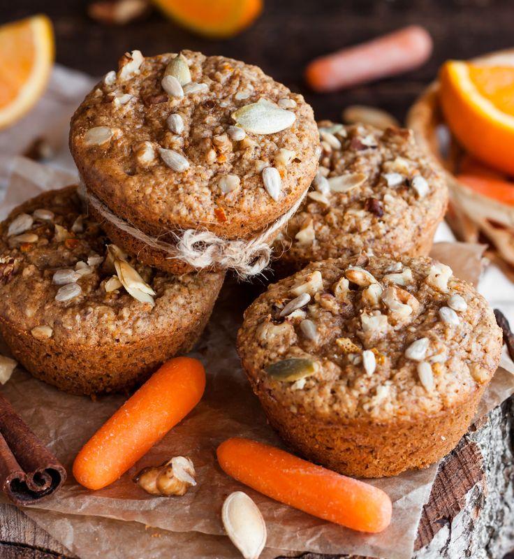 Wegańskie muffinki marchewkowe, fot. Fotolia
