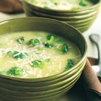 Potato-and-Broccoli Soup - Vegetable Soup Recipes - Delish.com