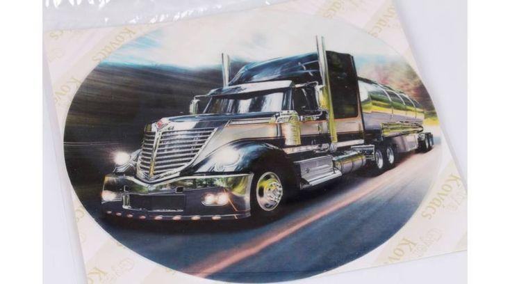 Fekete kamion tortaostya - Süss Velem.com