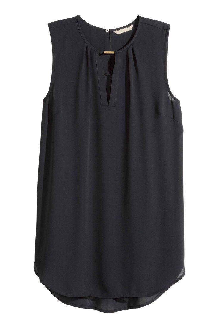 Mouwloze bloes | H&M