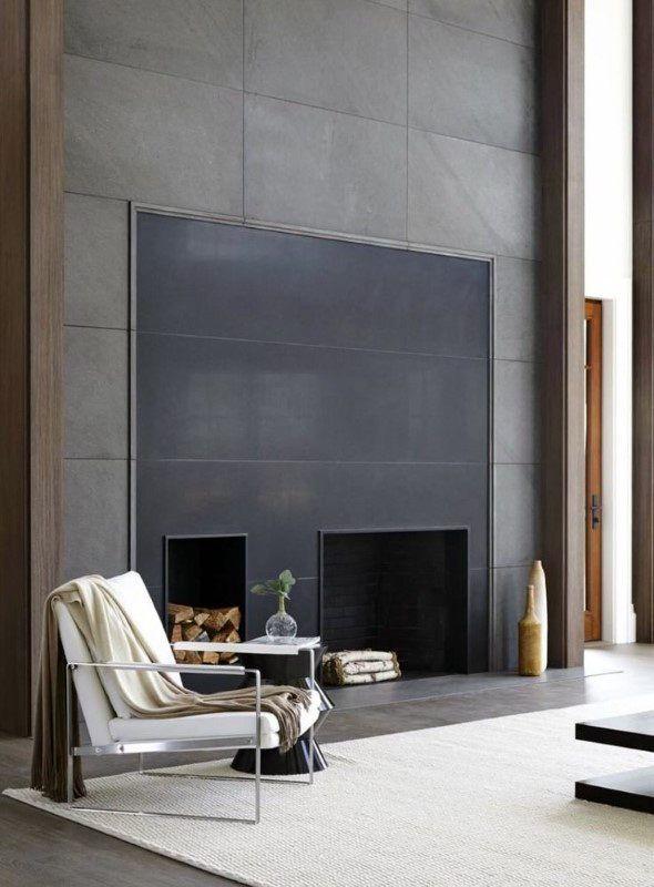 Ultra Modern Fireplace Ideas
