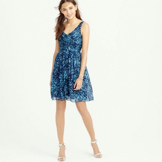 Jcrew heidi dress