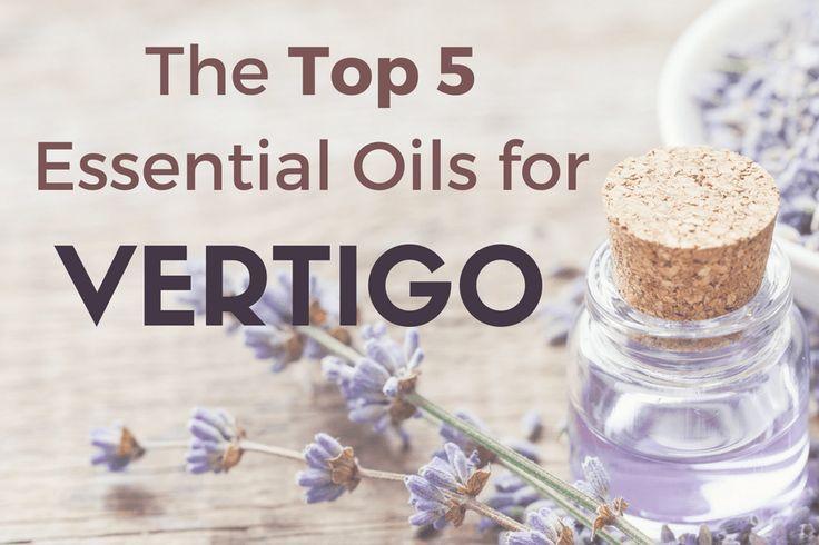 Longing for natural vertigo relief? Use these 5 essential oils for vertigo and dizziness to quickly reduce symptoms and feel better.