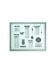 George Home Weights and Measures Glass Chopping Board