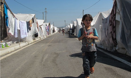 An article about Syrian refugees.