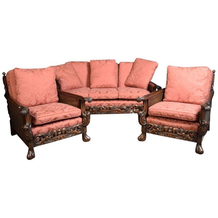 Best Edwardian Carved Mahogany Three Piece Bergere Lounge Suite In 2019 Lounge Suites Living Room 400 x 300