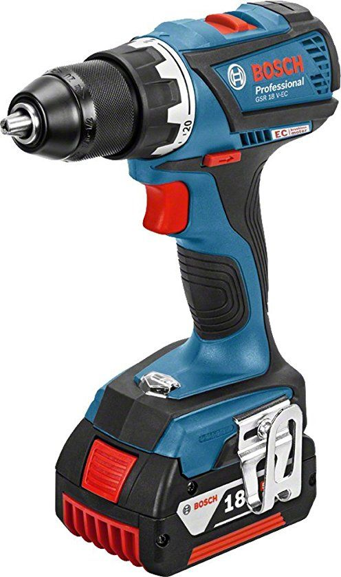 Bosch 06019E8104 GSR 18 V-60 C Perceuse-visseuse sans fil pas cher prix Perceuse ManoMano 280.90 € TTC au lieu de 329 €