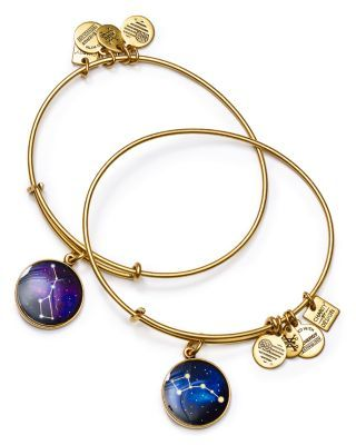 Alex and Ani Big and Little Dipper Expandable Wire Bangles, Set of 2 | Bloomingdale's