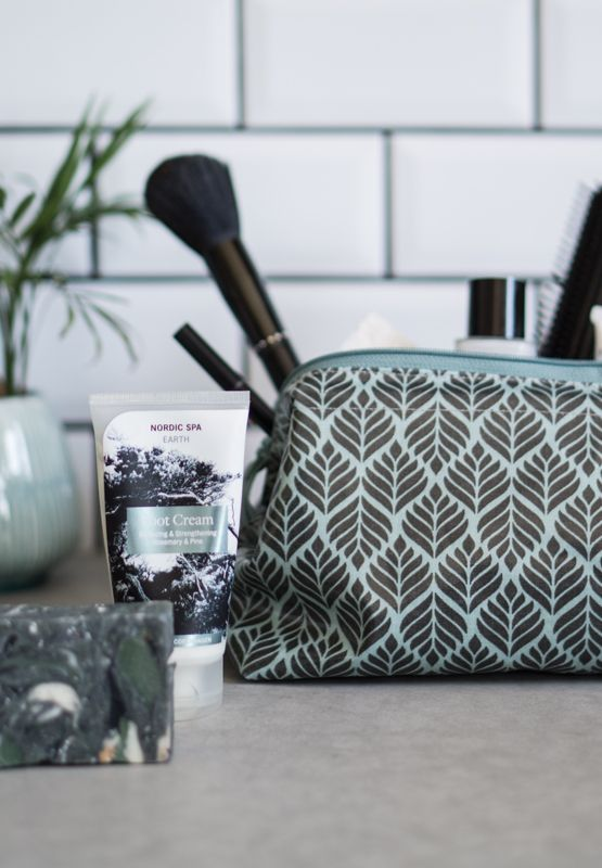 A.U Maison AW16. #aumaison #interior #homedecor #styling #danishdesign #bathroom #cosmeticbag #makeup