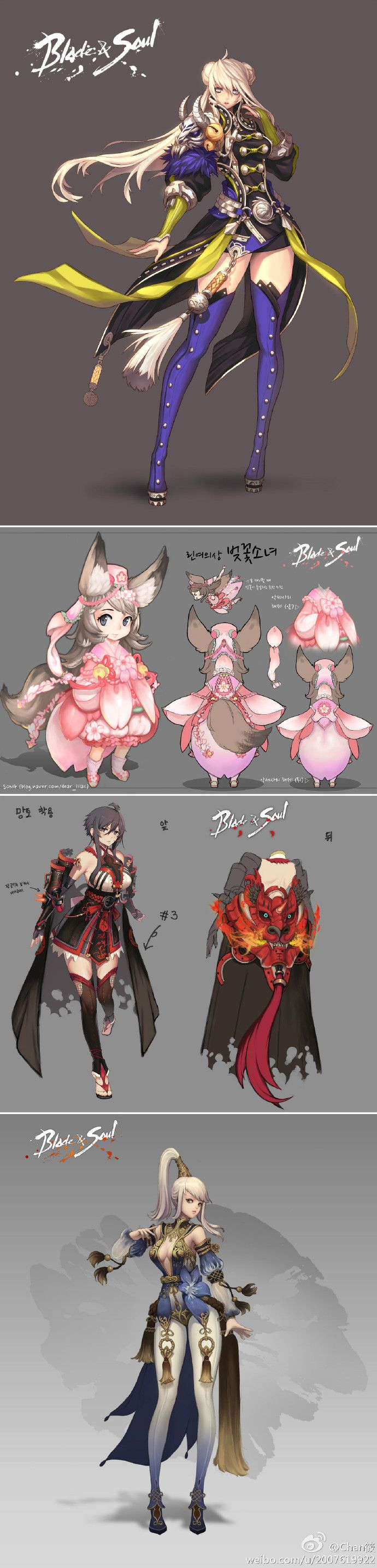Blade and Soul Characters
