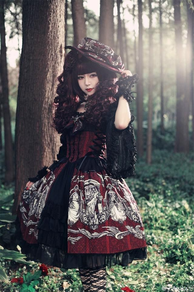 Everything about this look is perfect. I love Gothic Lolita. Would totally rock it if I had the budget or skills :D