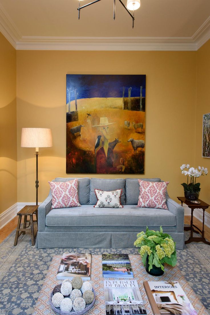 Hawthorn Sitting Room by Kimpton Interiors