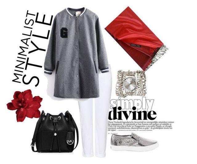 """#mydailyfashion#sultankurtay"" by sultankurtay on Polyvore featuring J Brand, White House Black Market, Sara Designs and MICHAEL Michael Kors"