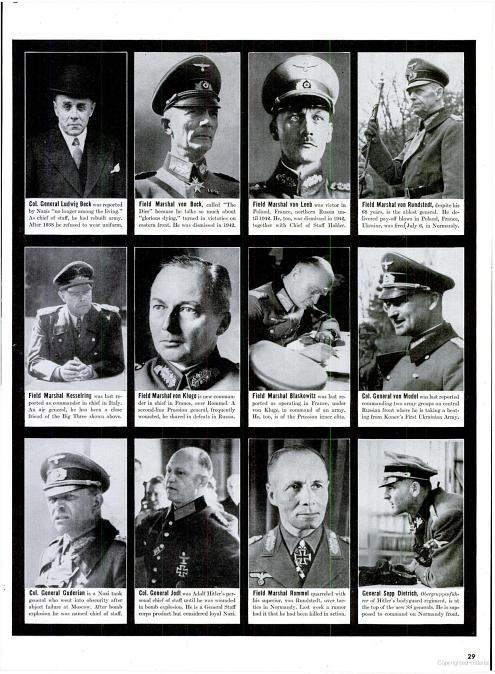 Pictures of conspirators.  The core group of conspirators included Ludwig Beck, Henning von Tresckow, Eduard Wagner, Eugen Bolz, Albrecht von Bernstorff, Claus von Stauffenberg, and Carl-Heinrich von Stulpnagel.  EBG in Rottenburg am Neckar, his hometown.