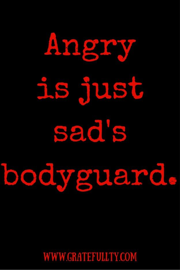 Why are you so angry? Love this blog!