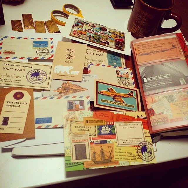 #トラベラーズノート#travelerschallenge#travelersnote#midoritravelersnotebook tn#ポストカード#ミニカード#ショップカード#travelersnotebook  お気に入りカードコレクション♡ ただ眺めてニヤニヤするだけ。 #Padgram