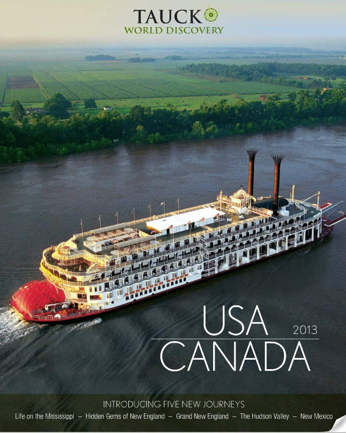 Tauck USA & Canada 2013 Brochure