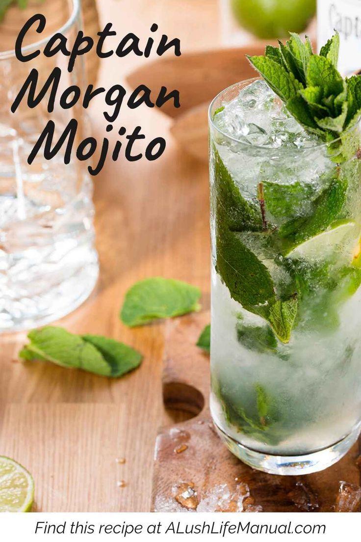 Easy Captain Morgan Mojito Cocktail Recipes Easy Easy Mojito Recipe Rum Cocktail Recipes
