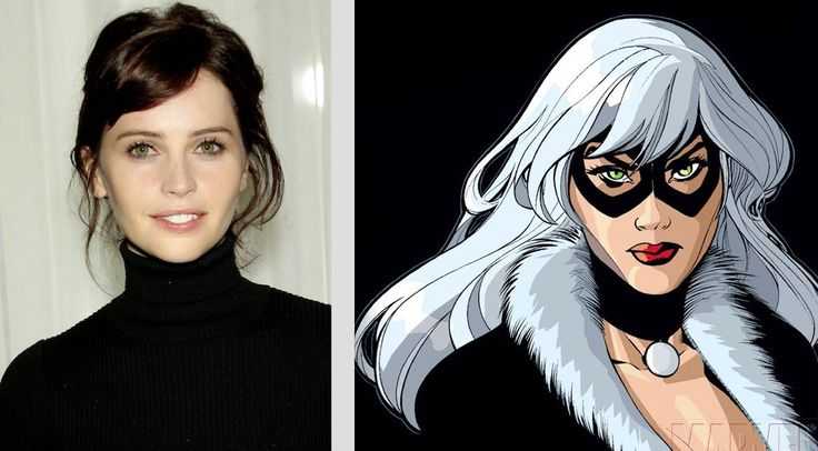 BLACK CAT.  Felicity Jones.