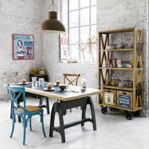 Industrial-y-loft-estudio-juvenil - .Foto ©www.maisonsdumonde.com