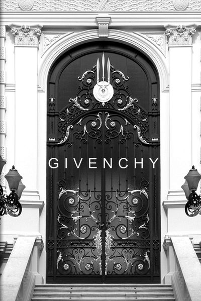 Givenchy, Paris. The house of Givenchy was founded in 1952 by designer Hubert de Givenchy. (=)