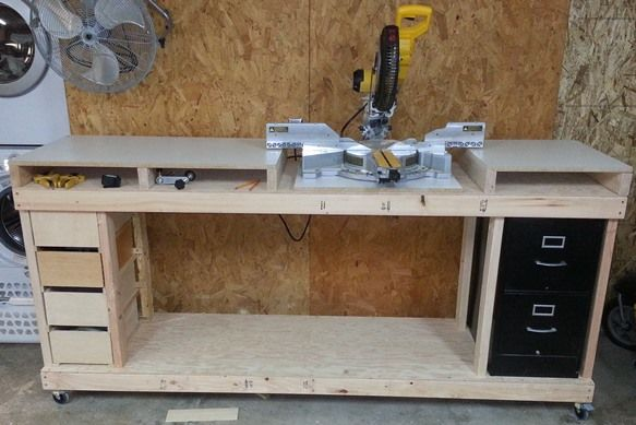 SketchUp: Modeling My Miter Saw Workbench With Free 3D CAD