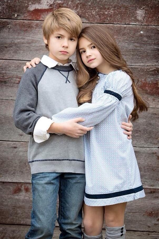 """Brooke and Tyler voted """"Most Beautiful"""" brother and sister by Child Model Magazine 2014."""