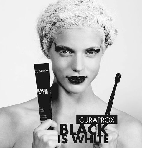 Curaprox Black is White Charcoal Toothpaste
