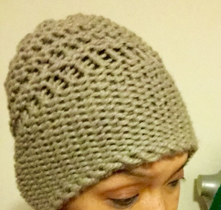 Slouchy breezy summer spring hat with crown - $ 15