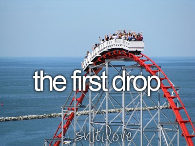 the first drop.