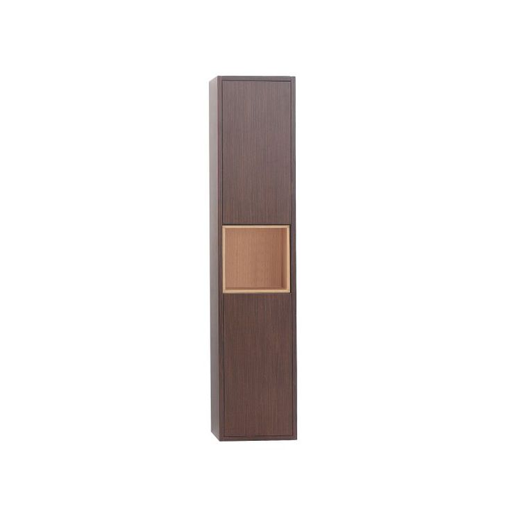 """Avanity SONOMA-WC12 Sonoma 12"""" Wood Wall Mounted Bathroom Cabinet Iron Wood Bathroom Cabinets Linen Towers Wall Cabinet"""