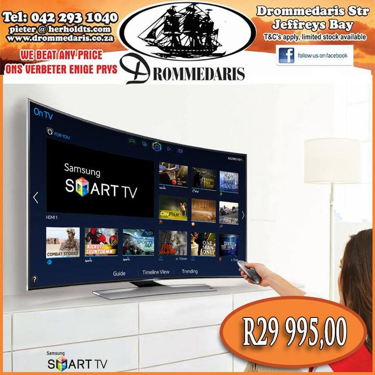 "At Drommedaris we're offering you great prices on high quality products, like this Samsung 55"" HD Curved LED Television, this product comes with a 2year guarantee and even has the ability to download from the internet and store other data. Read more or order here, http://apost.link/tp #technology #appliances"