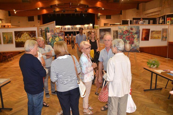 Un mois de peintures et de sculptures au 55ème salon des arts pontévallois.