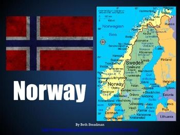 This is a basic PowerPoint presentation about the country of Norway (location, population, geography, landmarks, language, government, currency, sports and games, holidays, food, animals, clothing, fun facts, etc.).This download includes a zipped folder containing both the PDF file and the PPT file for this product.Check out my store for more wonderful presentations about other countries!