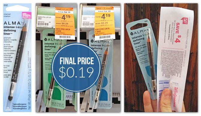 Almay Eyeliner, Only $0.19 at Walgreens - Reg $8.29!