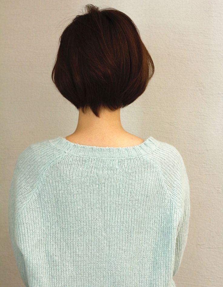 大人かわいいショート(NA-154) | ヘアカタログ・髪型・ヘアスタイル|AFLOAT(アフロート)表参道・銀座・名古屋の美容室・美容院