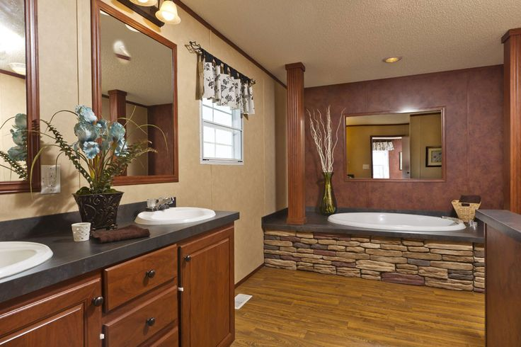 Best Manufactured Homes Bathrooms Images On Pinterest Click - Best flooring for mobile home bathroom