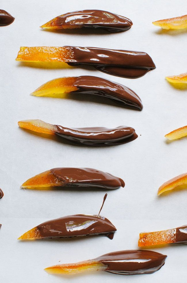 Sicilian Orangettes | Recipe | Chocolate, Candied orange ...