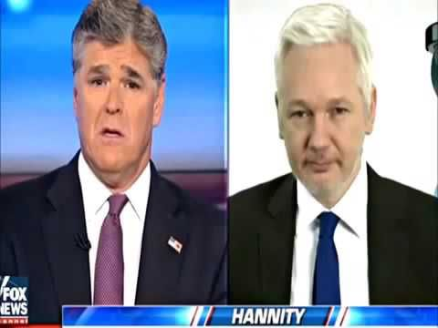NEW Julian Assange on The Sean Hannity Radio Show  2017