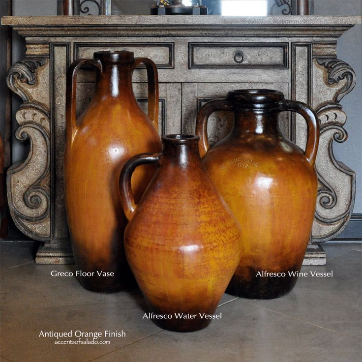New antiqued orange finish for rustic style homes.. Find these new styles in our online shopping selection. ~Accents of Salado